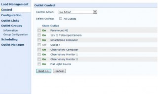 APC Control Interface