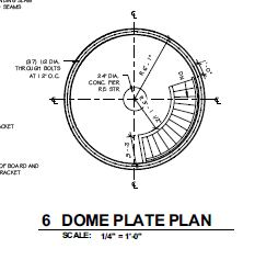 Dome Plate Plan