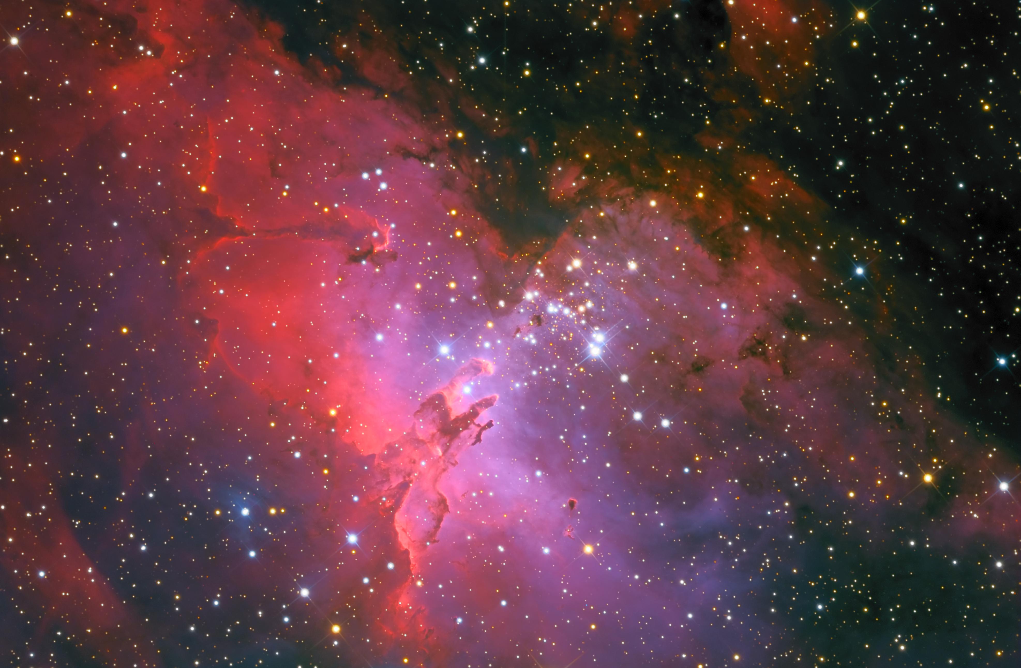 m16 eagle nebula face - photo #9
