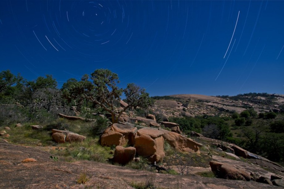 Night at Enchanted Rock